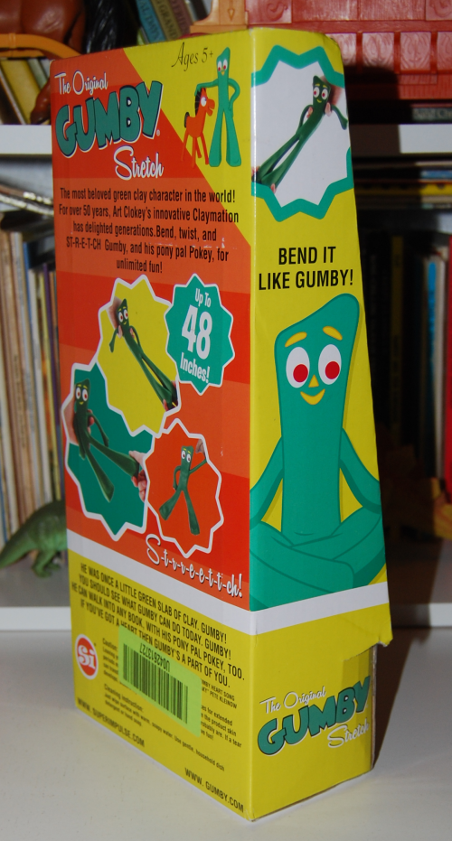 Gumby stretch toy 3