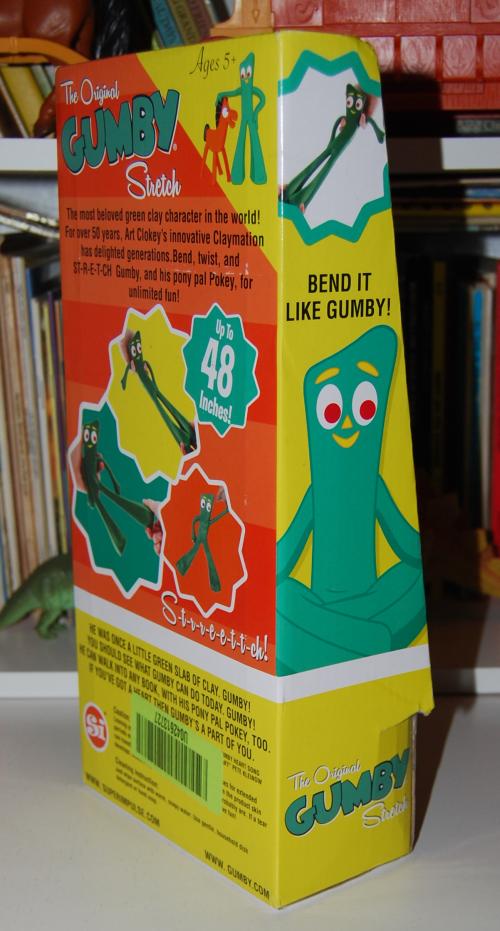 Gumby stretch toy 3