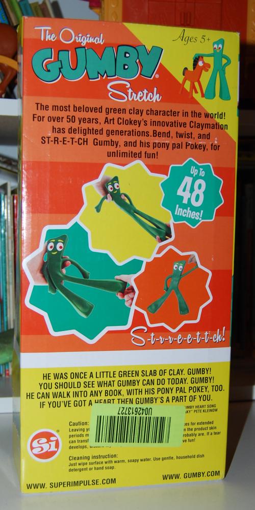 Gumby stretch toy 4