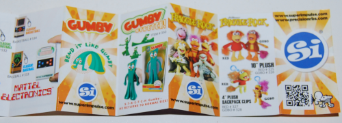 Gumby stretch toy 6