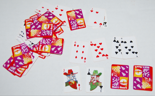 Chuck e cheese playing cards