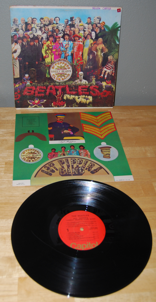 Beatles vinyl 15