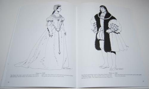 Dover renaisance fashion coloring book 6