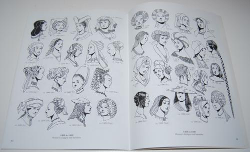 Dover renaisance fashion coloring book 11