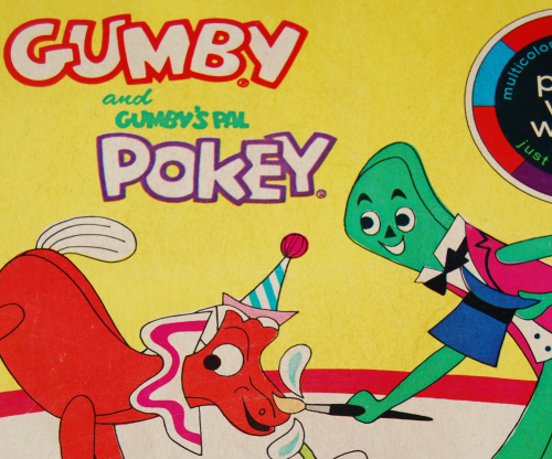 Gumby paint with water book whitman x