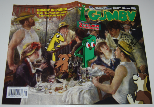 New gumby comic book 2 x