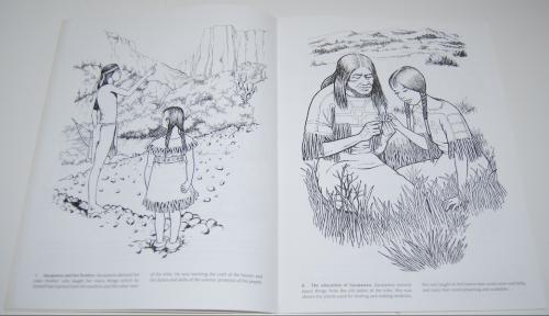 Dover sacajawea coloring book 3