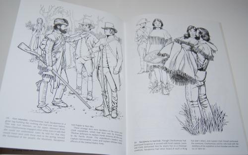 Dover sacajawea coloring book 7