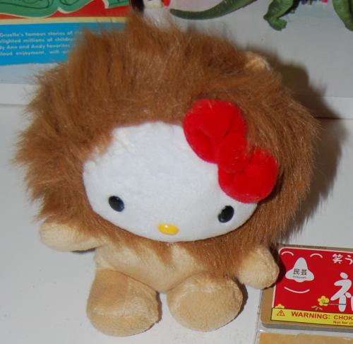 Hello kitty lion