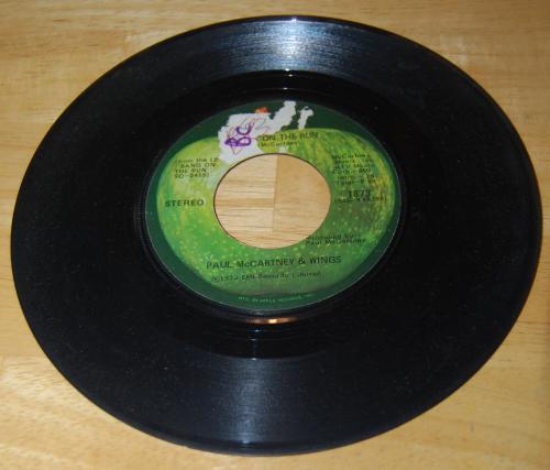 Vintage vinyl beatles 45s 3