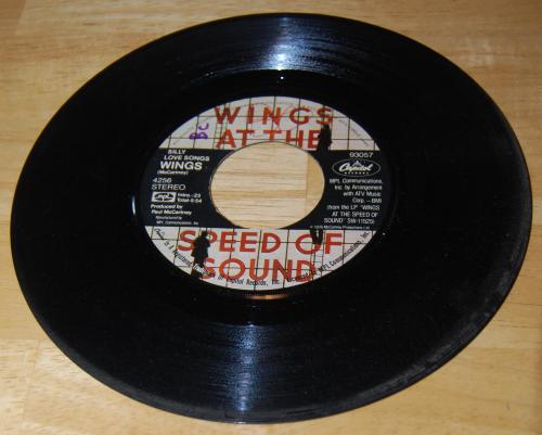 Vintage vinyl beatles 45s 6