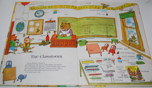 Richard scarry's great big schoolhouse book 4