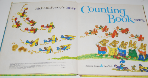 Richard scarry's best counting book ever 1