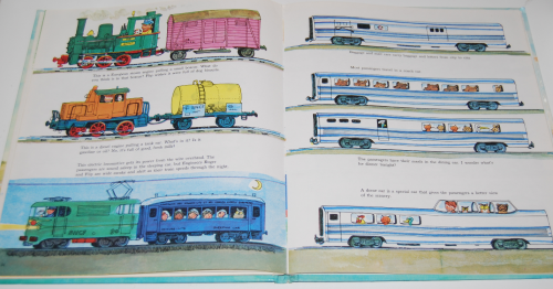 Richard scarry's hop aboard here we go 13
