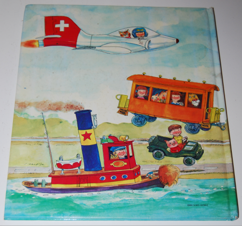 Richard scarry's hop aboard here we go x