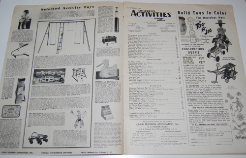 Children's activities magazine october 1947 1