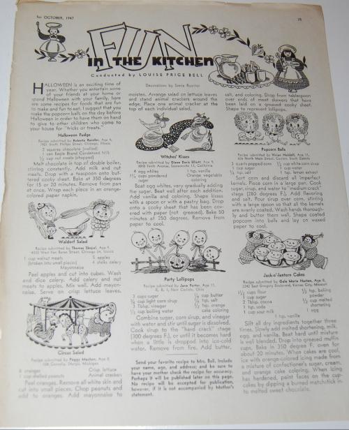 Children's activities magazine october 1947 13