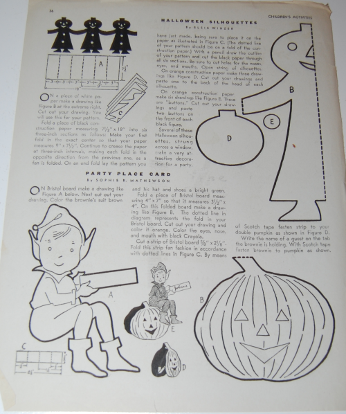 Children's activities magazine october 1947 14