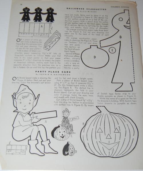 Children's activities magazine october 1947 14