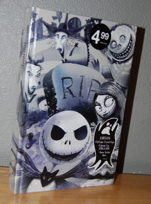 Nightmare before christmas journal new