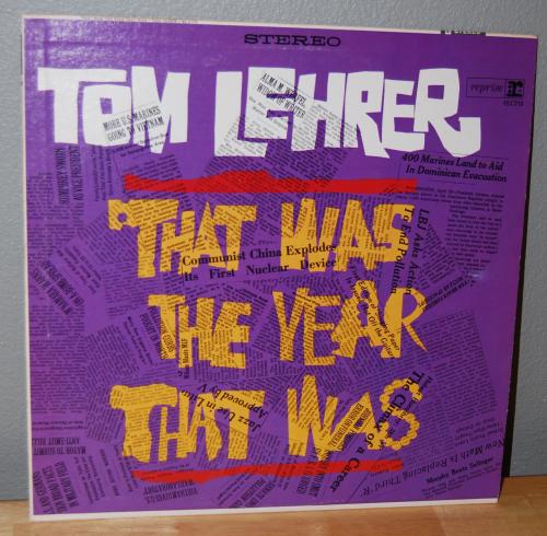 Tom lehrer comedy lp
