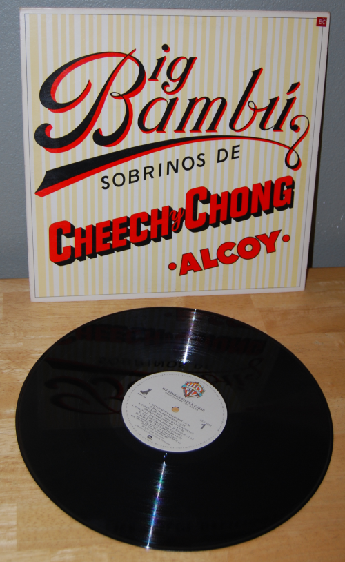 Cheech & chong vinyl lp 1