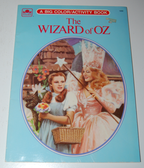Wizard of oz golden coloring book