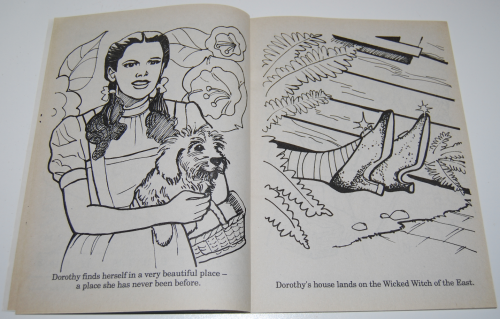 Wizard of oz golden coloring book 3