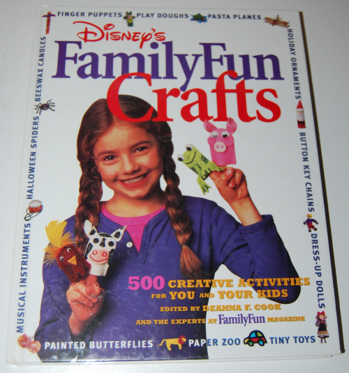 Disney's family fun crafts book