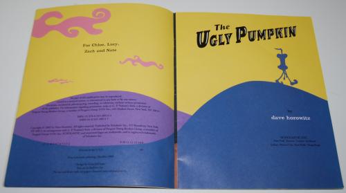 The ugly pumpkin 1