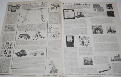 Children's activities magazine november 1947 1