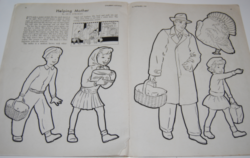 Children's activities magazine november 1947 10