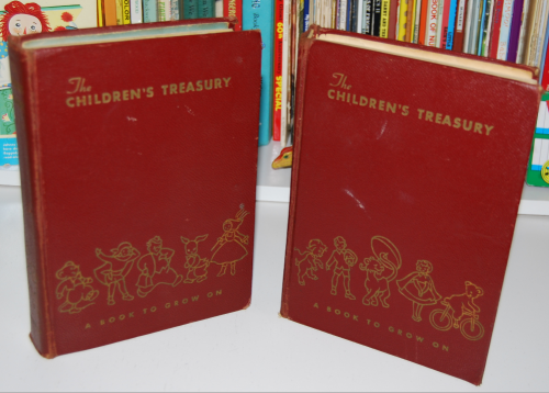 The children's treasury vintage books