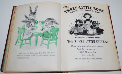 The children's treasury vintage books 10