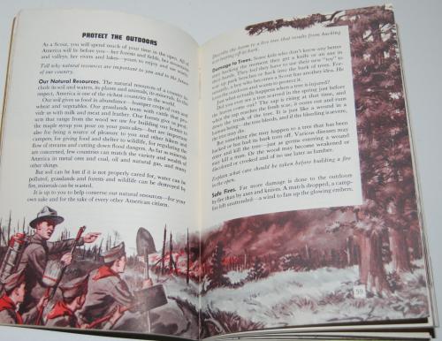 Vintage boy scout handbook 4