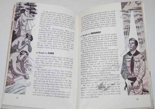 Vintage boy scout handbook 5