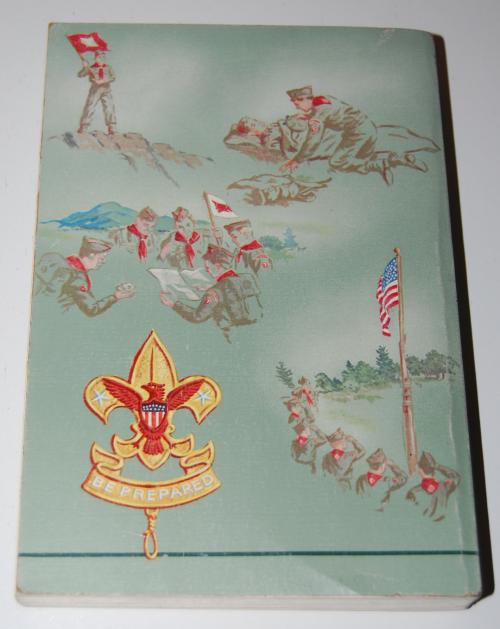 Vintage boy scout handbook x