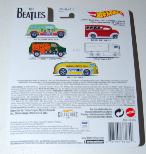 Hot wheels beatles cars 1x