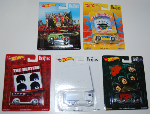 Hot wheels beatles cars x
