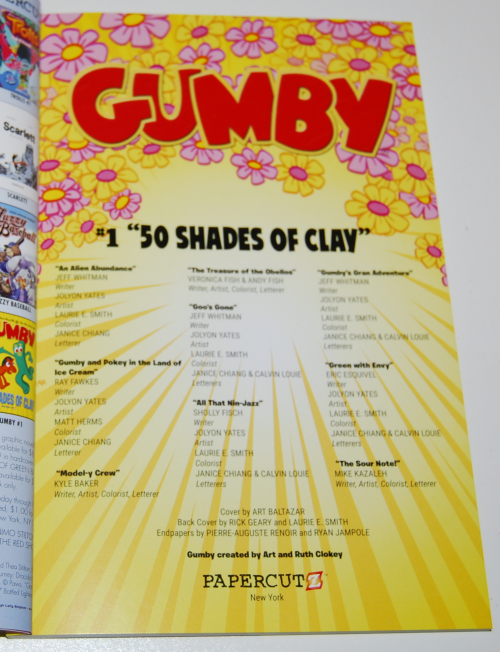 Gumby 50 shades of clay 2
