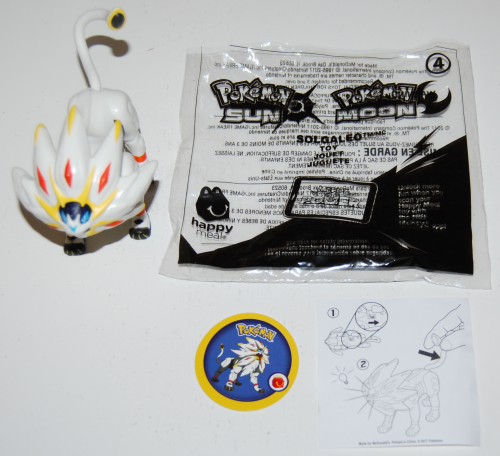 Pokemon sunmoon happy meal