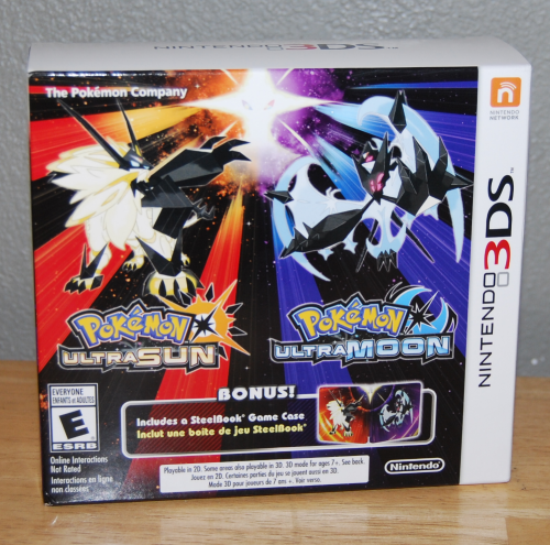 Pokemon ultra sun & ultra moon