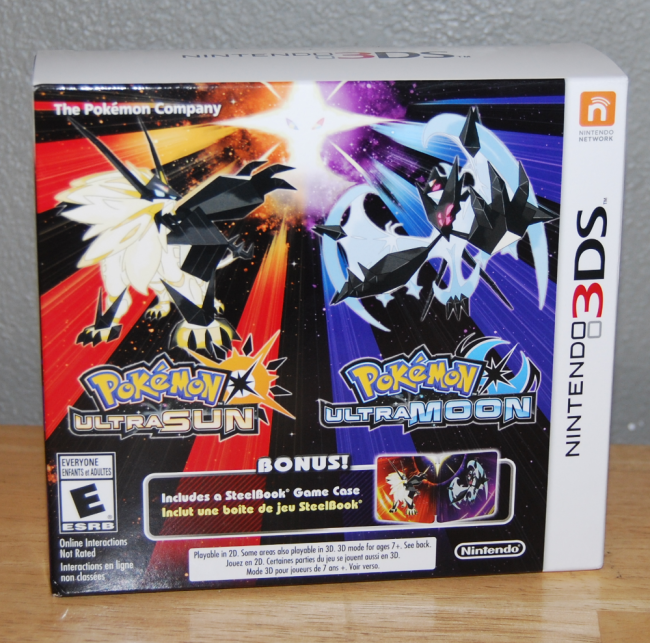 pokemon ultra sun & ultra moon games