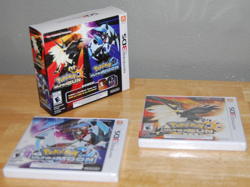 Pokemon ultra sun & ultra moon 1