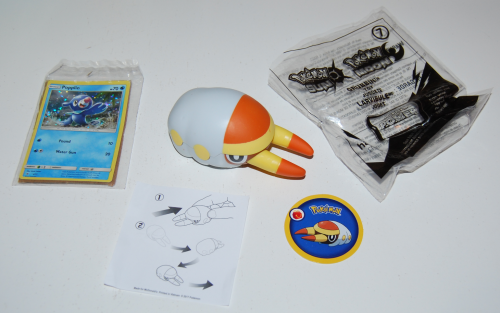 Pokemon prize happy meal x