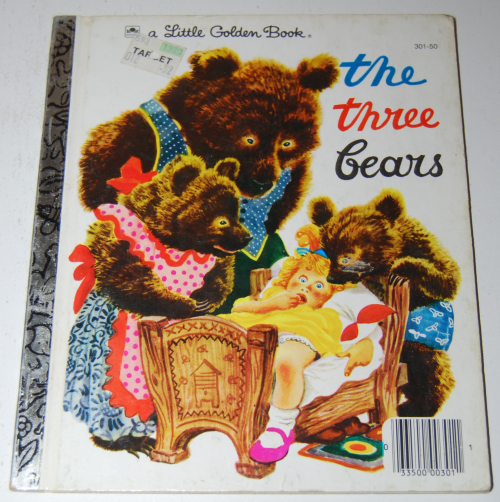 Little golden books bears x