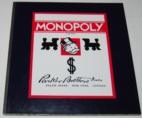 Monopoly commemorative edition board game 1