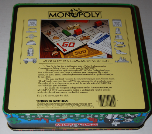 Monopoly commemorative edition board game 10