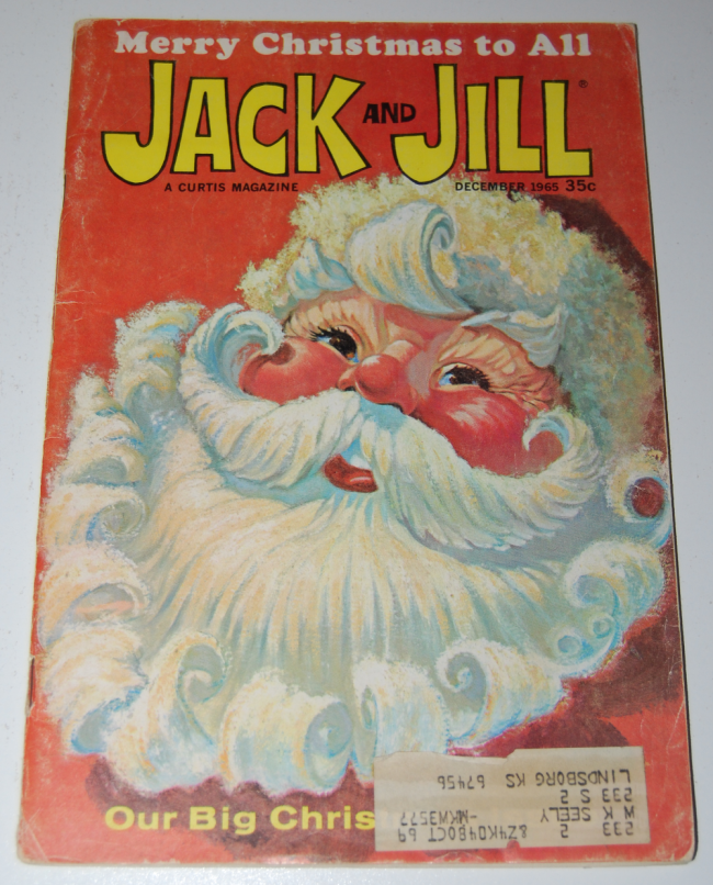 jack & jill magazine ~ december 1965