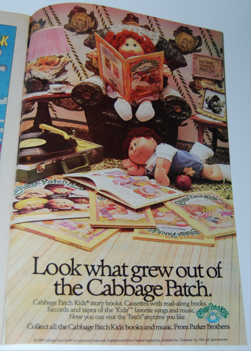 Cabbage patch kids ad